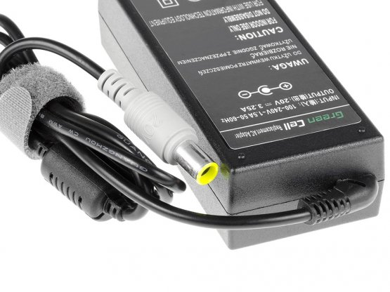 Adaptér 40Y7663 pro Lenovo 65W 20V 3,5A 7,7mm-5,5mm - A01 Adaptér pro notebook: dle specifikace