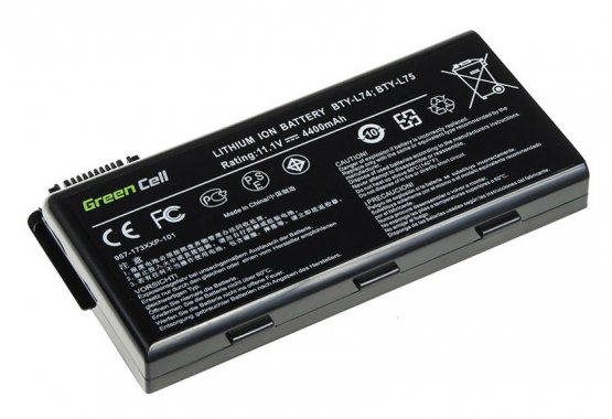 Baterie MSI CR700-038PL, CR700-047US, CR700-060X 10,8/11,1V 4400mAh