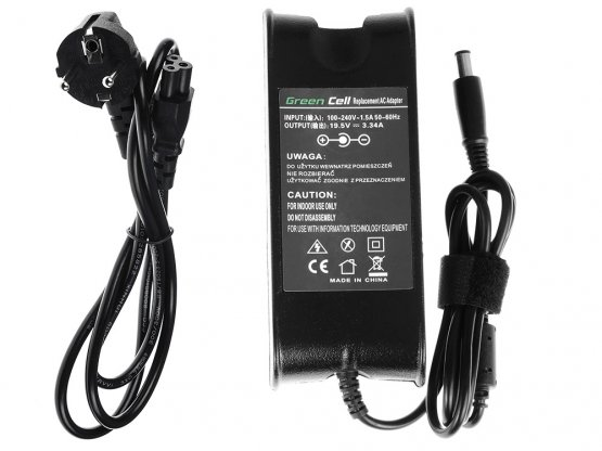 Adaptér 310-4408 pro Dell 65W 19,5V 3,34A 7,4mm-5,0mm - A01 Adaptér pro notebook: dle specifikace